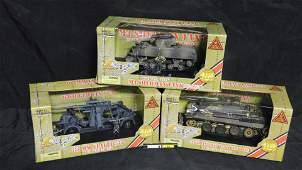 Ultimate Soldier Lot of 3 Military Vehicles