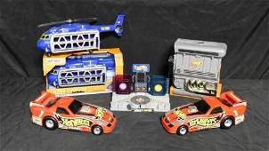 Lot of Hot Wheels Playsets