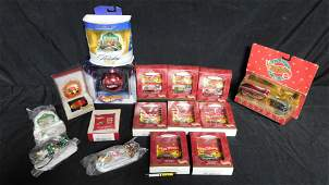 Lot of Hot Wheels Christmas Items