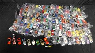 Large Lot of Loose 1:64 Scale Die-Cast Cars