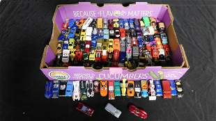 Lot of Loose 1:64 Scale Die-Cast Vehicles