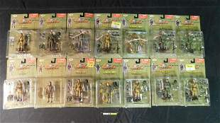 Lot of 14 Ultimate Soldier 1:18 Scale Figures