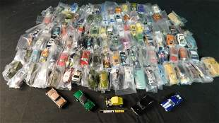 Large Lot of Loose 1:64 Scale Diecast Cars