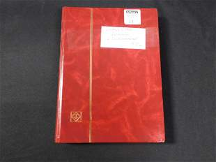 Stock Book with Belgium and Newfoundland