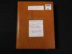 German Stock book & Egyptian Stamps