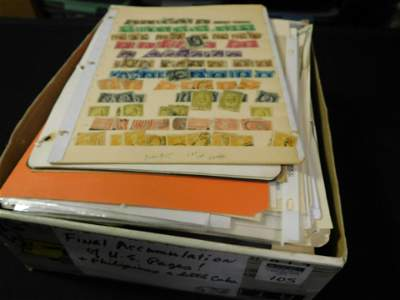 Large Lot of Loose Album Pages