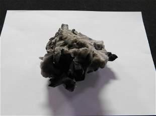Large Smoky Quartz Cluster