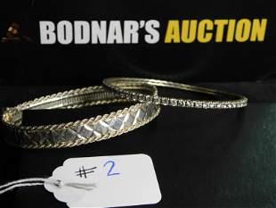Lot Sterling Bracelets