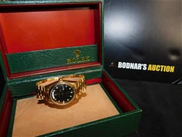 Rolex 18K Day-Date President