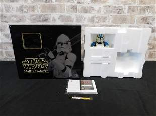Star Wars Clone Trooper 501 Special Ops Bust by Gentle