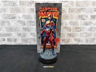 Marvel Captain Marvel 1970's Version Full Size Statue