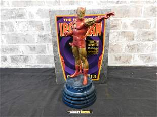 Marvel The Invincible Iron Man Retro Version Statue by
