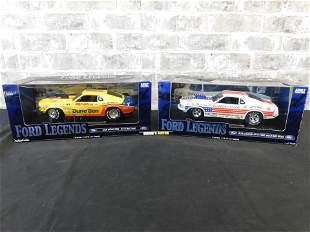 Ertl Ford Legends 1:18 Scale Die-Cast Lot of 2 -