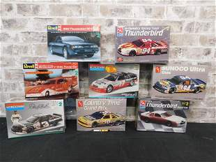Lot of 8 Sealed Auto Related Model Kits