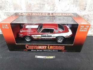 Chevrolet Legends Warren Johnson 1970 Chevy Camaro -