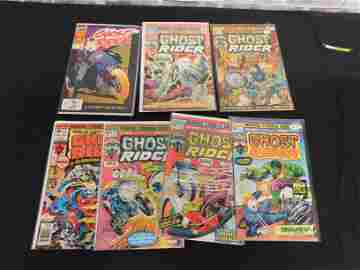 Short Box of Comics including Ghost Rider