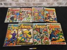 Short Box of Comics including Avengers #92, #125, #181