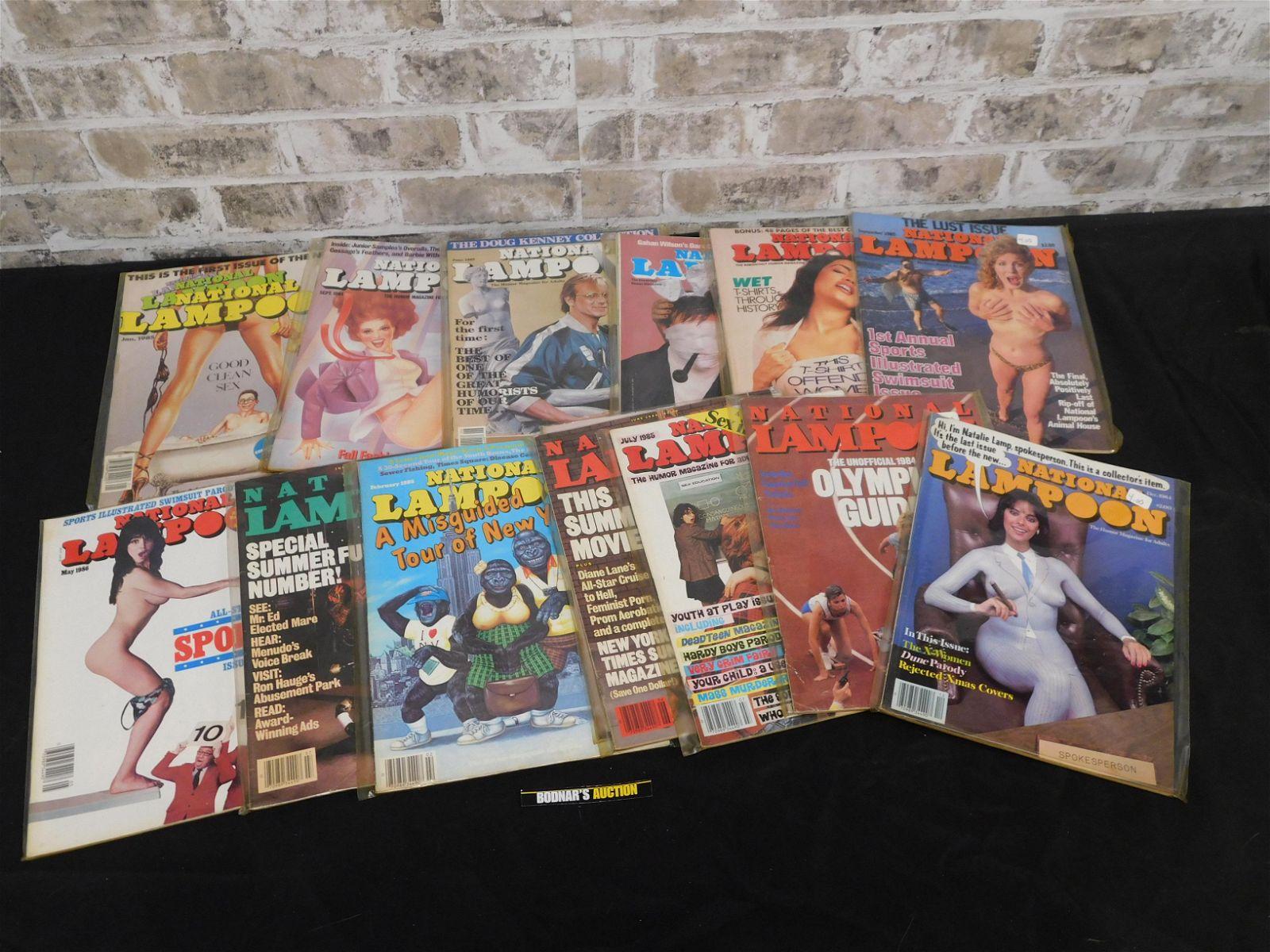 Short Box of Magazines including 1970's Crazy, Cracked