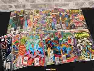 Short Box of Comics including Dr. Strange