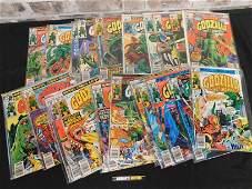 Short Box of Comics including Godzilla