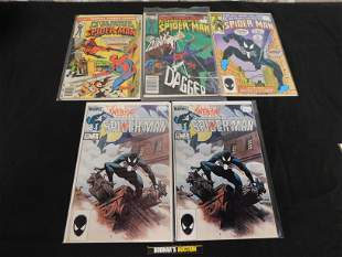 Lot of 5 Comics including Spectacular Spider-Man #1