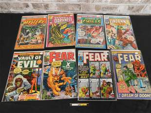 Large Lot of Approx. 40+ Marvel Bronze Age Horror
