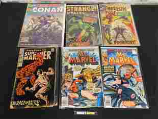 Lot of 6 Marvel Key Issues