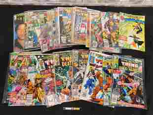 Short Box of Comics including 1970's Marvel, 1990's