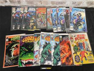 Short Box of Comics featuring Many #1's