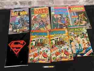 Short Box including Foreign Comic Books, Mad Magazines,