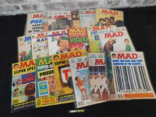Short Box of Mad Magazines