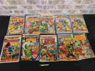 Short Box of Comics including Marvel Key Features