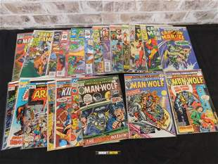 Short Box of Comics including Marvel from the 70's-90's
