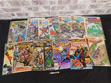 Short Box of Comics including Amazing Spider-Man from