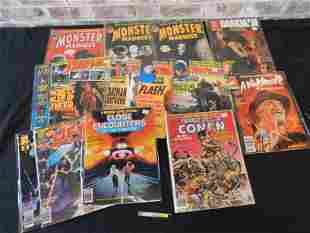 Short Box with 1970's and 80's Marvel Magazines