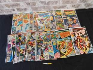 Short Box of Comics including Howard the Duck #12