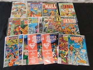 Short Box of Comics including Wonder Woman #1 and