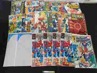 Lot of 1990's Venom, Spider-Man Special Edition, and