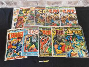 Lot of 1970's Marvel including Avengers #144