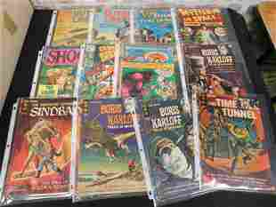 Lot of 21 Silver Age Horror and Science Fiction Comics