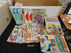 Long Box of 1980's Archie, Rai 0, and Fabulous Freak