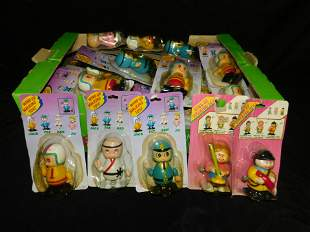Group Lot of Wind Up Walking Toys