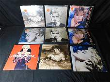 Lot of 9 Maddonna records
