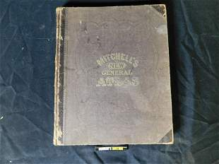 Mitchell's New General Atlas - 1866