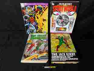 Lot of Jack Kirby and DC Showcase Books
