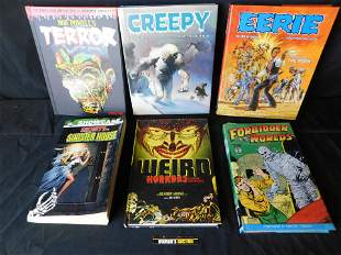 Lot of 6 Horror Related Books