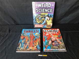 Lot of 3 Golden Age Comic Related Books