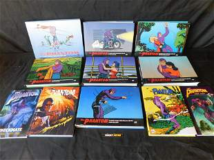 Large Lot of 11 The Phantom Soft and Hardcover Books