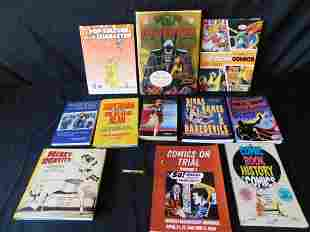 Large Lot of Comic Book History Books