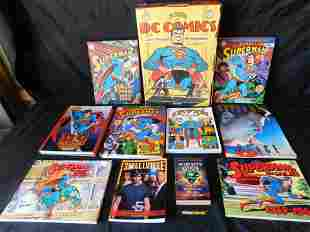 Large Lot of Superman Related Hard and Soft Covered